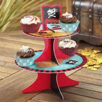 Dino Island Cup Cake Stand